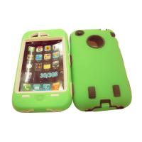 Wholesale Green Cute Silicone Rubber Cell Phone Case , OEM Cellphone Cover from china suppliers