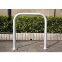 Wholesale Schools, Colleges Outdoor Steel Bike Stand With One /  Two Sides 750mm * 800mm from china suppliers