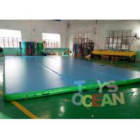 Wholesale Durable Gymnastics Air Track Inflatable Tumble Track Mat For Martial Art Sport from china suppliers
