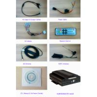 Wholesale Video WIFI SD Card 4 Channel Mobile DVR With GPS Tracking For Car Carrying from china suppliers