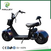 HLX5 Halley Scooter Soflow Halley Electric Scooter With Fashion Bag And Hydraulic Absorber
