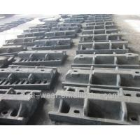 Wholesale Ni-hard Cast Iron Sag Mill Liners , Heat Resistant Aluminum Sand Castings HRC53 from china suppliers