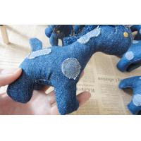 "Wholesale 6"" Pony children Stuffed homemade unique denim toys gifts for home decoration from china suppliers"