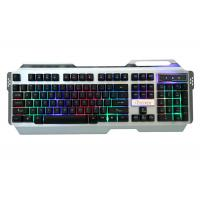 Wholesale Desktop Microsoft Slim Rainbow Gaming Keyboard Backlit Metal Panel Gk502 from china suppliers
