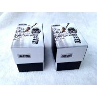 Wholesale Cardboard Packing Gift Boxes For Watch , Cardboard Storage Boxes Black And White Color from china suppliers