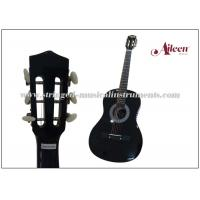 Wholesale 38'' Linden Plywood Top Classical Acoustic Guitar With 4 Band EQ from china suppliers