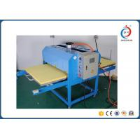 Quality Pneumatic Semi - Automatic Wide Format Heat Press Machine For Sportswear for sale