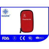 Wholesale Medium Premium Red Military First Aid Kit , Hard Shell Army First Aid Kit Case from china suppliers