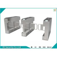 Wholesale Stainless Steel Turnstile Security Systems Mess Hall Barrier Swing Turnstiles from china suppliers