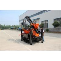 Wholesale Crawler type portable 150m well digger machine , hydraulic water well drilling equipment from china suppliers