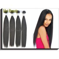Wholesale Virgin Peruvian Human Hair Extensions 300G Per Three Bundles , Sample Order Acceptable from china suppliers