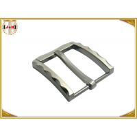 Wholesale Metal Zinc Alloy Pin Belt Buckle With Clips Nickel Color With 40 MM from china suppliers