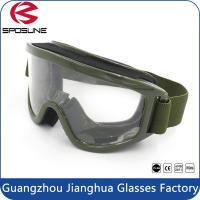 Wholesale Airsoft TPU Frame PC Lenses Military Tactical Glasses / Ballistic Goggles from china suppliers
