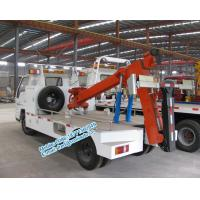 Quality Hydraulic oil system controlled JMC 4x2 orange color 4 ton tow truck wrecker low price for sale for sale