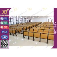 Wholesale Aluminum Frame Fixed Tablet School Desk Chair ISO 9001 Approval For Students from china suppliers