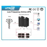 Wholesale Industry Low Frequency Online UPS With Short Circuit Protection Eco Mode from china suppliers