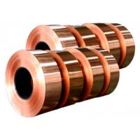 Wholesale Electronic Copper Strips , Long Length Copper Tape For Power Cable from china suppliers