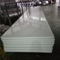 Buy cheap 1150-50-476mm greywhite steel sheet eps sandwich panel with protective film both side from wholesalers
