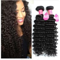 Wholesale Long Lasting Brazilian Deep Wave Human Hair , 8A Brazilian Virgin Hair from china suppliers