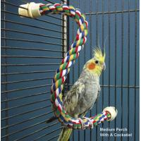 Wholesale Bendable Cotton Rope Perch for budgies, cockatiels and other birds from china suppliers