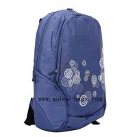 Wholesale Fashion Blue Nylon laptop computer backpack bag for travel (MH-2052) from china suppliers