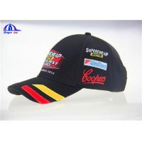 Wholesale Classical Design V8 Supercards Black Custom Baseball Caps With Patch Embroidery from china suppliers