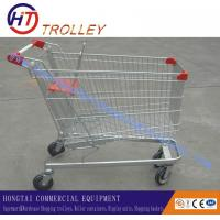 "Wholesale German Style Unfolded Grocery Shopping Carts , Caster Size 4"" - 5"" from china suppliers"