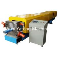 Wholesale Panasonic PLC Control Gutter Roll Forming Machine 18 - 20 Stations Lifetime Services from china suppliers