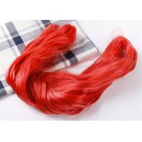Buy cheap Red Color Eco Friendly 0.15mm High Tenacity Nylon Yarn Dyed Fishing Line By Hand from wholesalers