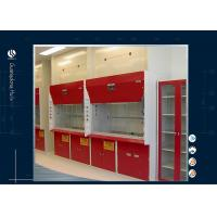 Wholesale 1500*800*2350mm Ducted Fume Hood , Portable Fume Cupboard Color Rolled Steel Materials from china suppliers