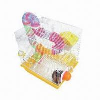 Wholesale Stainless steel frame hamster cage with tunnel for running from china suppliers