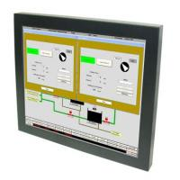 Wholesale 12.1-inch LCD Monitor with Resistive Touch, Remote Control 4:3 for Industrial Control Application from china suppliers