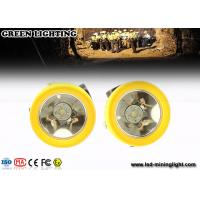 Wholesale Downhole Recreation Cordless Mining Lights , Led Hard Hat Headlamp 200 Ma 4000 Lux from china suppliers