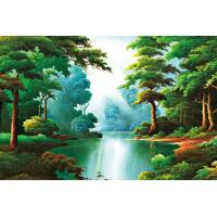 Buy cheap Beautiful Sightseeing Style Plastic Printing Services With 3D Effect from wholesalers