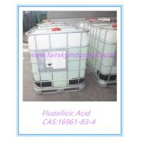 Wholesale Fluorosilicic Acid(Fairsky)&Hydrofluosilicic Acid&Mainly used on the Flux-cored wire&Leading supplier in China from china suppliers