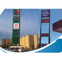 Wholesale Single Color LED Fuel Price Signs / Mobile Electronic Message Boards from china suppliers