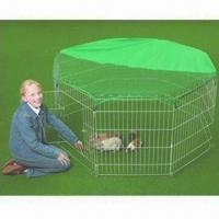 Wholesale Pet Cage, Rabbit Play Fence with Weatherproof Galvanized Wires and Rust Resistance Features from china suppliers