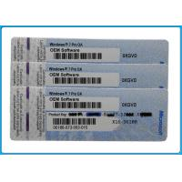 Wholesale win 7 ultimate / windows 7 professional genuine product key COA STICKER In stock from china suppliers