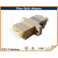 Wholesale Customized Duplex LC Fiber Optic Adapters Passive Optical Cable Adapter from china suppliers