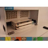 Wholesale Indoor 4U 48 Cores Optical Distribution Frame Rack Mount Patch Panel optical Termination from china suppliers
