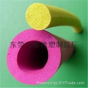 China Silicone foam tube, foam silicone tube, Rubber silicone foam tube, Foam silicone tube Manufacturers on sale