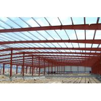 Quality Fabrication Safety Industrial Steel Structures , Single Span Fabricated Steel Buildings for sale