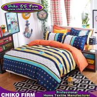 Wholesale 1 Duvet Cover 2 Pillowcases 1 Flat Sheet Leasure Theme Colors Microfiber Bedding from china suppliers