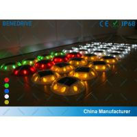 Wholesale 8 LEDs 5 Colors Outdoor Garden Solar Road Studs With Super Capacitor 10 Years Life from china suppliers