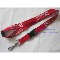 Wholesale Cheap Single Side Logo Jacquard Woven Lanyard from china suppliers