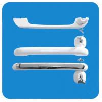 Wholesale Customised Plastic External ABS White Freezer Door Handle With 2 Lock 280X26X36mm from china suppliers