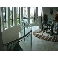 Wholesale Safety Building bending tempered glass , Clear tempered glass wall panels from china suppliers