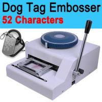 Wholesale Manual Dog Tag Card Embosser Embossing Machine Military from china suppliers