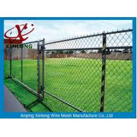 Wholesale High Anti Corrosive Dark Green Chain Link Fence for Tennis Ground from china suppliers