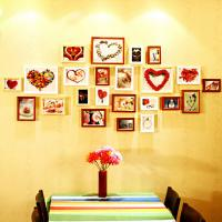 Wholesale Factory price solid wood photo wall Nature& Art natual home decoration supplier photo wall from china suppliers